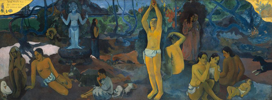 Where Do We Come From? What Are We? Where Are We Going? Paul Gauguin